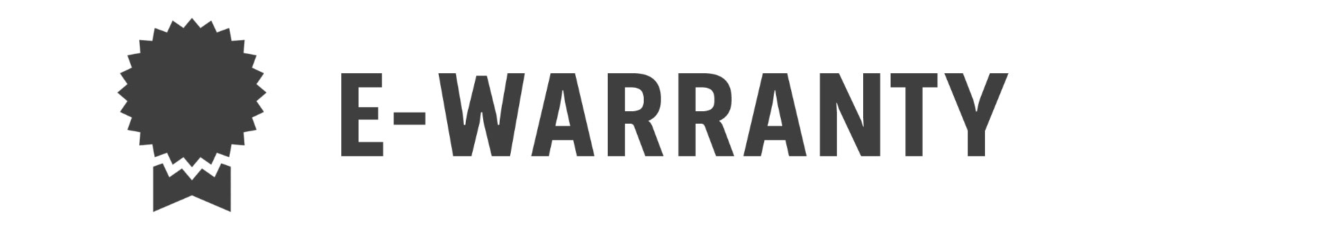 E-Warranty